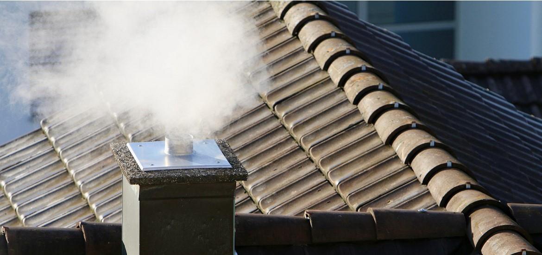 Течет дымоход в доме монтаж асбестовой трубы на дымоход