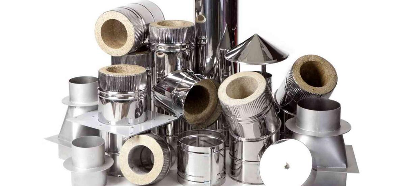 Монтаж печных труб из нержавейки