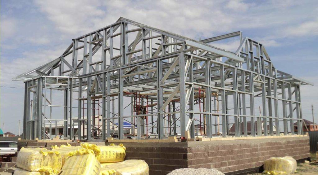 Как построить каркасный дом из металла своими руками? Пошаговая инструкция- Обзор +Видео