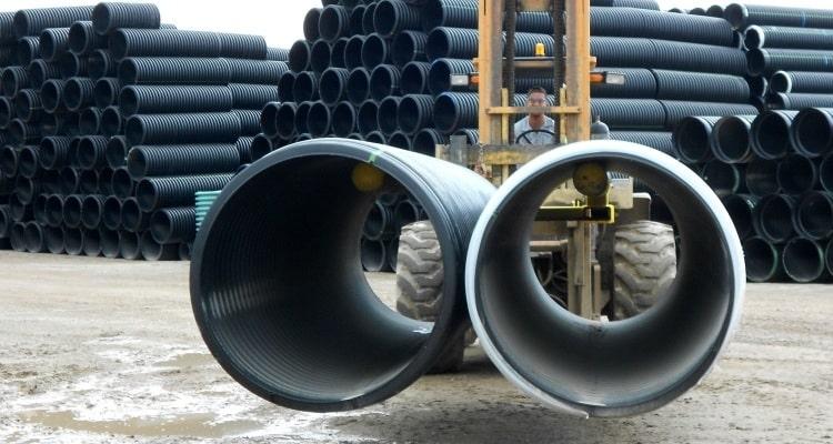 Полиэтиленовые трубы больших диаметров
